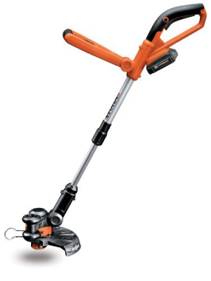WORX WG155 20V MAX Cordless Lithium 10-Inch String Trimmer/Edger, Battery and Charger Included
