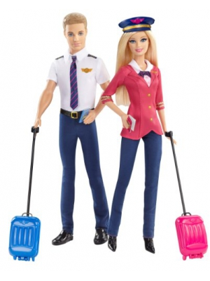 Barbie Careers Barbie and Ken Doll Giftset (2-Pack)