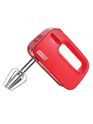 Dash SHM01DSRD Easy Store Hand Mixer, Red by Dash
