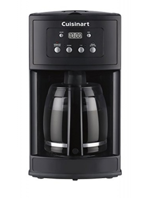 Cuisinart DCC-500FR 12 Cup Programmable Coffeemaker (Certified Refurbished), Black