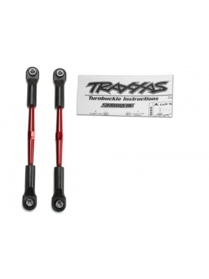 Traxxas 2336X Red-Anodized Aluminum Turnbuckles with Rod Ends