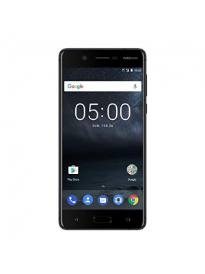 "Nokia 5 - Android 8.0 (Oreo) - 16 GB - 13MP Camera - Dual SIM Unlocked Smartphone (at&T/T-Mobile/MetroPCS/Cricket/H2O) - 5.2"" Screen - Black"