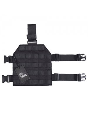 OneTigris 1000D Nylon Tactical MOLLE Drop Leg Platform for Hunting/Paintball/Airsoft