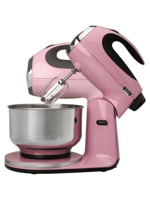 Sunbeam Heritage Series Stand Mixer Pink Frosting Color