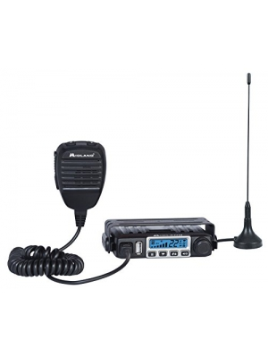 Midland Consumer Radio MXT115 Micro Mobile 15W Gmrs Radio with Weather, 8 Repeater Channels & Magnetic Mount Antenna