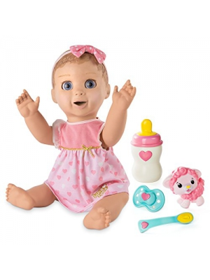 Luvabella Blonde Hair Interactive Baby Doll with Expressions & Movement, Ages 4 & Up