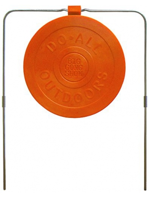 "Do-All Outdoors - Big Gong Show 9"" Self-Healing Target, Rated for .22- .50 Caliber"