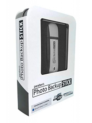 Photo Backup Stick 32GB - USB Drive Easy Picture and Video Backup for Windows Computers, iPhones, and Android Phones