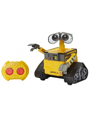 Disney Pixar Wall-E Remote Control Robot Toy 9.5-in 24-cm Tall, Kids Gift for Ages 4 Years Old & Up, Multi (GPN30)