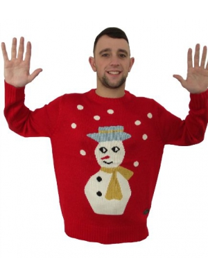 Crazy Granny Sid Snowman Ugly Christmas Sweater