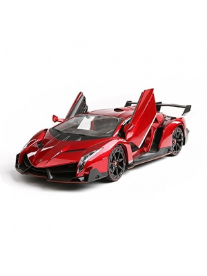 Electric RC Car-Lamborghini Veneno Sport Racing Car 1:14 Scale Officially Licensed Lamborghini Veneno , RC Electric Car , Rechargeable & Opening Doors , Special Edition (Colors May Vary)