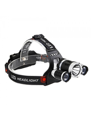 LED Headlamp,Castnoo Zoomable 3000 Lumen T6 LED Headlamp Flashlight,Rechargeable LED Headlight with 4 Modes,2 18650 Battery (Not Included)