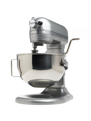 KitchenAid Professional Lift Mixer RKG25H0XMC, 5 Plus Bowl, Metallic Chrome, (Certified Refurbished)