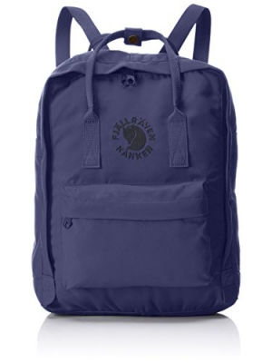 Fjallraven - Kanken, Re-Kanken Recyclable Pack, Heritage and Responsibility Since 1960, Midnight Blue
