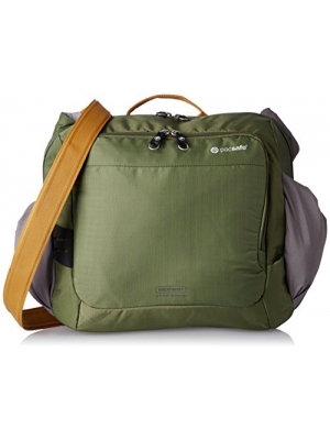 Pacsafe Venturesafe 350 GII Anti-Theft Shoulder Bag, Olive/Khaki
