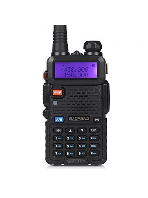 Baofeng UV-5RTP Tri-Power 8/4/1W Two-Way Radio Transceiver (Upgraded Version of UV-5R with Tri-Power), Dual Band 136-174/400-520MHz True 8W High Power Two-Way Radio