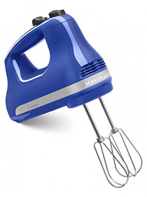 KitchenAid KHM512TB 5-Speed Ultra Power Hand Mixer, Twilight Blue