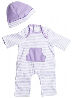 "JC Toys Purple Romper (up to 16"")"