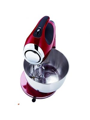 New Sunbeam Fpsbsm2104 Red 12 Speed Electric Heritage Blender Mixer 350 Watt