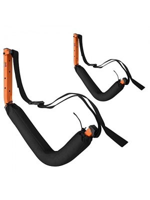 RAD Sportz Wall Hanger Pro Kayak and Stand Up Paddle Board Foam Padded SUP Rack