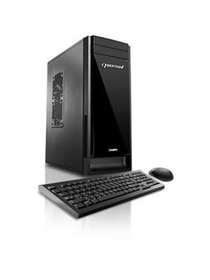 CybertronPC Evoke-GT6 Gaming Desktop - AMD FX-4130 3.8GHz Quad-Core Processor, 4GB DDR3 Memory, NVIDIA GeForce GT 610 (1GB) Graphics, 1TB HDD, DVD±RW, Microsoft Windows 10 Home 64-Bit