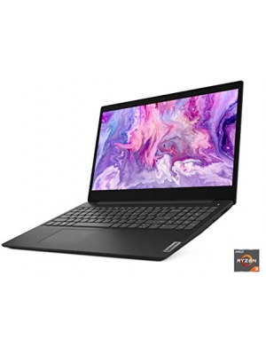 "Lenovo IdeaPad 3 15"" Laptop, 15.6"" HD (1366 x 768) Display, AMD Ryzen 3 3250U Processor, 4GB DDR4 OnBoard RAM, 128GB SSD, AMD Radeon Vega 3 Graphics, Windows 10, 81W10094US, Business Black"