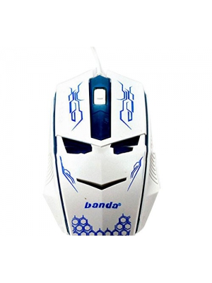 WQSuma Hot Sale Game Mouse 1200 DPI Wired Mouse Blue
