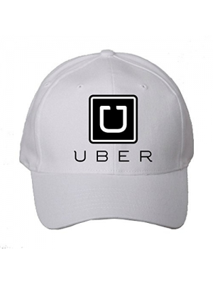 Men's New UBER Professional Driver's Hat/Cap -Black (Embroidered Logo)
