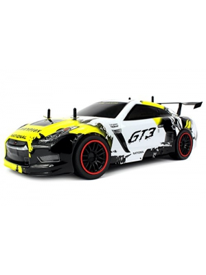 Velocity Toys Remote Control 2.4 GHz 1:10 Scale RTR GT3 Racer Supercar with Lithium Battery