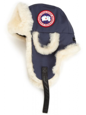 Canada Goose Men's Shearling Pilot Hat - Arctic Tech