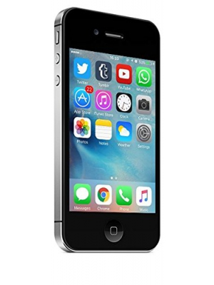 Apple iPhone 4S 64GB Unlocked Cell Phone International Version with No Warranty - Black