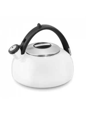 Cuisinart CTK-EOS2W Peak Porcelain Enamel on Steel Tea Kettle, White