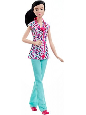 Barbie Careers Nurse Doll Asian