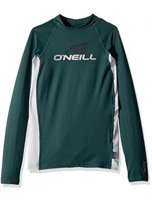 O'Neill Youth Premium Skins Upf 50+ Long Sleeve Rash Guard