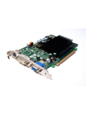 Dell nVidia GeForce 7300 LE 128MB DDR2 DVI VGA TV-Out PCI-E x16 Video Card - Dell DK315