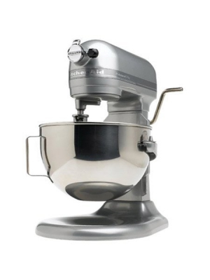 KitchenAid Super Big Capacity Lift Style Model KP26M1XMC Professional 600 Series 6-Quart Stand Mixer, Metalic Chrome Beautiful Color.