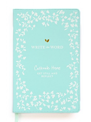 Write the Word Bible Journal: Scripture Faith Journal by Lara Casey (Blue)