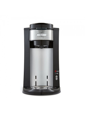 BELLA Dual Brew Single Serve Personal Coffee Maker, K Cup, K cup 2.0 and ground coffee brewer