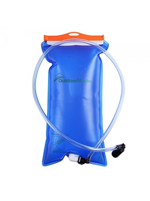 OutdoorMaster Hydration Bladder with Leak Proof Connection System with 2.5L/3L Capacity
