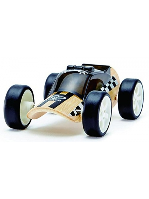 Hape Bamboo Toy Police Car Kid's Play Vehicle