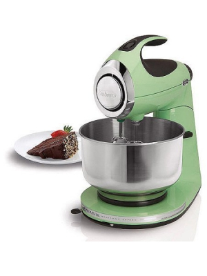 3-Way Mixing Action | Sunbeam Heritage Series Stand Mixer - (Seafoam Green)
