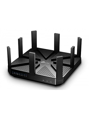 TP-Link AC5400 Wireless Wi-Fi MU-MIMO Tri-Band Router - Powerful Wi-Fi for Gaming and 4K Streaming, Comprehensive Antivirus and