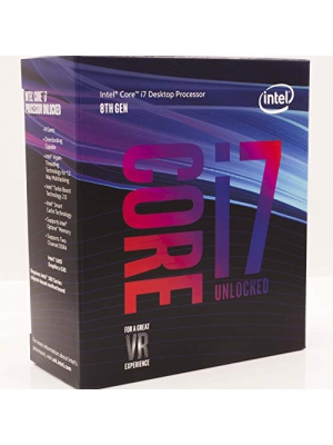 Intel Core i7-8700K Desktop Processor 6 Cores up to 4.7GHz Turbo Unlocked LGA1151 300 Series 95W
