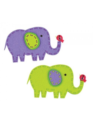 American Girl Crafts Sew and Share Kit, Elephants