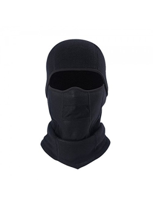 E-TRENDS Balaclava Ski Face Mask Tactical Hood Windproof for Men & Women Ski Snowboard, Black