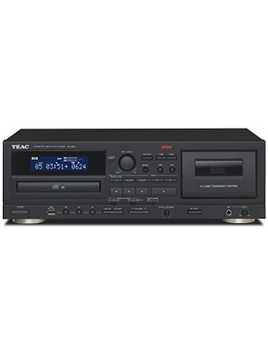 TEAC AD-850 Cassette and CD Player with USB-Recorder, Karaoke Mic-In