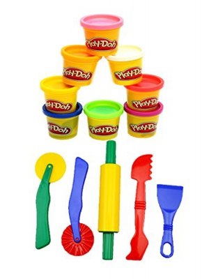 Strokes 8 Can Play-Doh Compound and 5 Piece Clay and Dough Tool Set