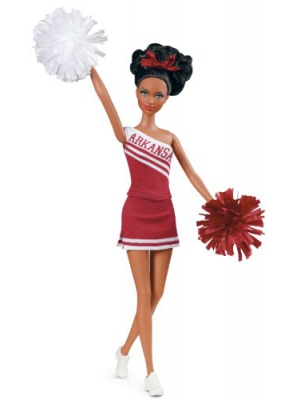 Barbie Collector University of Arkansas African-American Doll