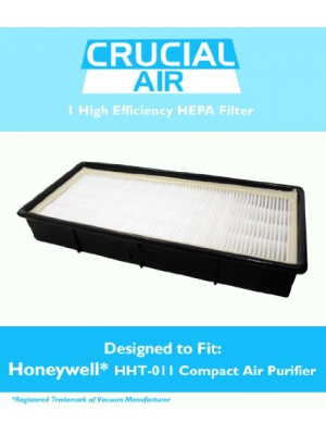 Honeywell Air Purifier HEPA Filter with Odor Control Carbon, Fits Honeywell Models HHT-011, HHT-080, and More, Replaces Part no. 16200, 16216, HRC1, HRF-C1, HAPF30, and More, by Think Crucial