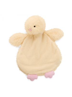North American Bear Company Big Fat Chick Cozy Mini Security Blanket